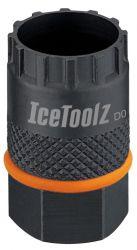 IceToolz cassette-afnemer 09C3, Shimano-HG, zwart