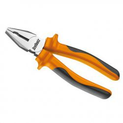 "IceToolz combination pliers 28C2, comfort-grip 18cm/7"", orange"