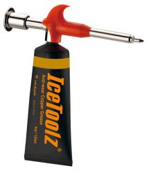 IceToolz copper grease C272, + grease gun 4oz•/120ml, black