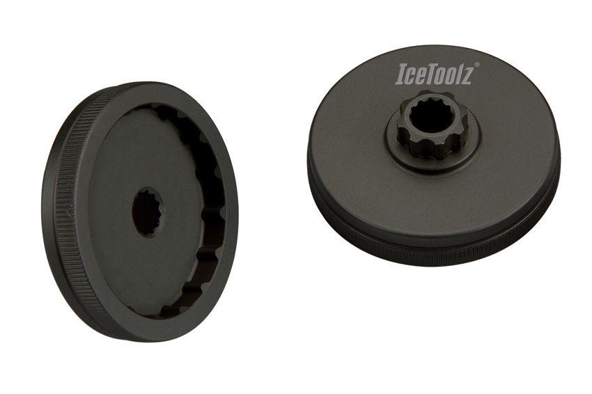 icetoolz crank adapter 11f3 shimano hollowtech ii black