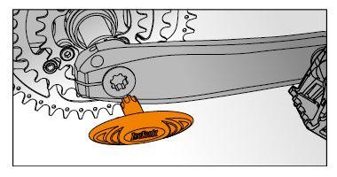 icetoolz crank mounting key 04t1 octalinkisis orange
