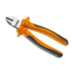 "IceToolz cutting pliers, comfort-grip 18cm/7"", orange"