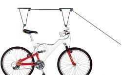 IceToolz fietslift P621, met 2 katrollen voor max. 25kg., zwart