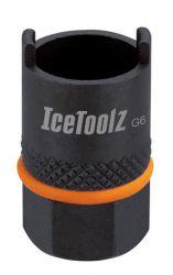 IceToolz freewheel afnemer 0903, Suntour 2-noks, zwart
