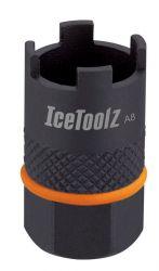 IceToolz freewheel afnemer 09F3, Suntour 4-noks, zwart