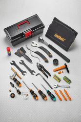 IceToolz gereedschapset 85A7, Pro Shop 40-delig, zwart