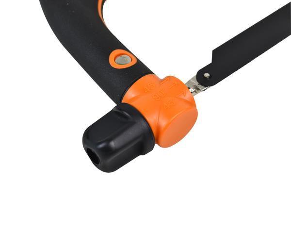 icetoolz hacksaw 16h3 hss carbide blade black