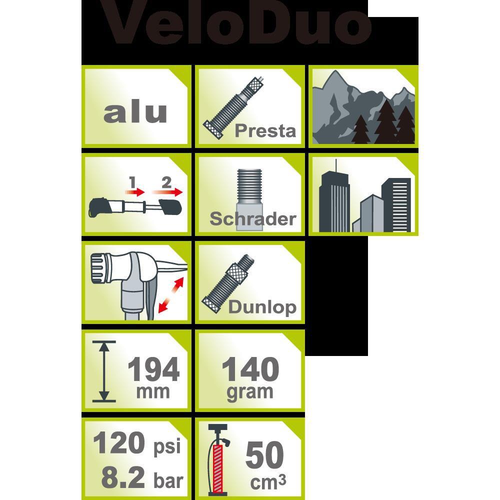 icetoolz hand pump veloduo a111 high pressure mini avfvdv silver