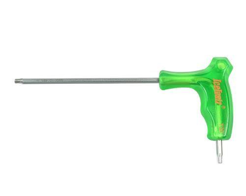 icetoolz hexsleutel 7t twinhead met handvat t20 groen