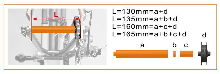 icetoolz hulpas 30c1 chainmaster 130165mm oranje