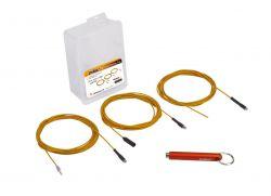 IceToolz kabelgeleider 67R1, 3 kabels met magneet 2,5mx1mm, oranje