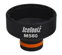 IceToolz kettingblad montagegereedschap M580, STePS E50-/61-/70-/8000, zwart