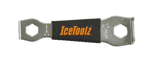 icetoolz kettingbladboutsleutel 27p5 115mm zwart