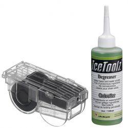 IceToolz kettingreiniger C211, + ontvetter 4oz•/120ml, transparant