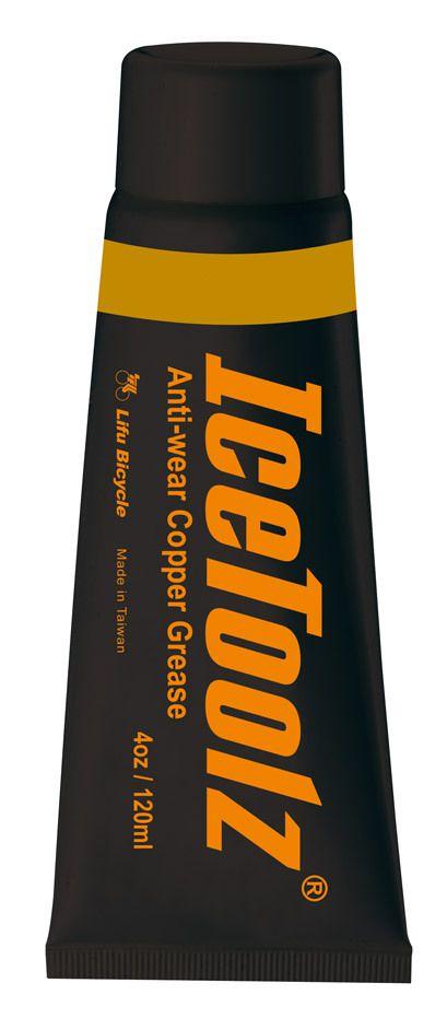 icetoolz kopervet c172 antislijtage 4oz120ml zwart