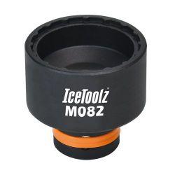 IceToolz trapassleutel M082, zwart