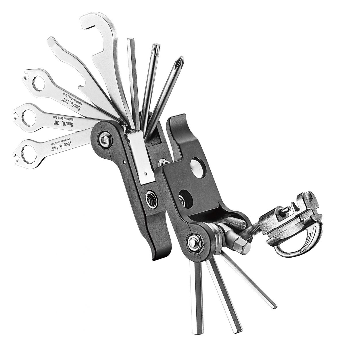 icetoolz multitool 91a4 pocket22 with pouch 22 parts black
