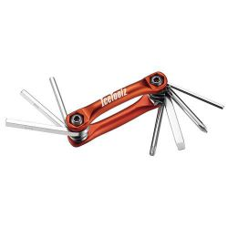 IceToolz multi-tool 91B4, Urban-7 7 parts, orange