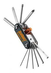 IceToolz multi-tool 95A5, Amaze-11 11-delig, zwart