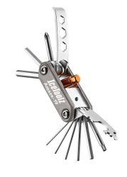 IceToolz multi-tool 95A7, Amaze-19 19 parts, grey