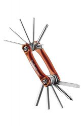 IceToolz multi-tool 96B3, Bar-11 11 parts, orange