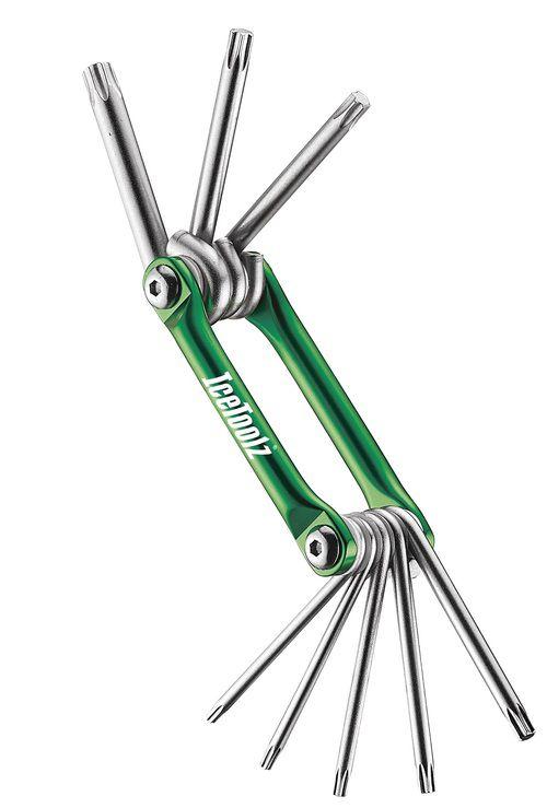 icetoolz multitool 96t1 star8 8delig groen