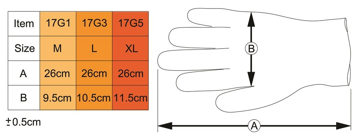 icetoolz nbr handschoenen 17g3 maat l 100 st