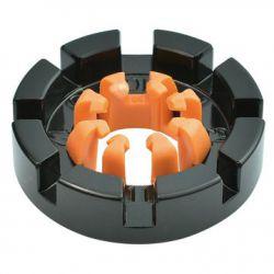 IceToolz nipple tensioner 12F8, 8-grooves 10~15G, black