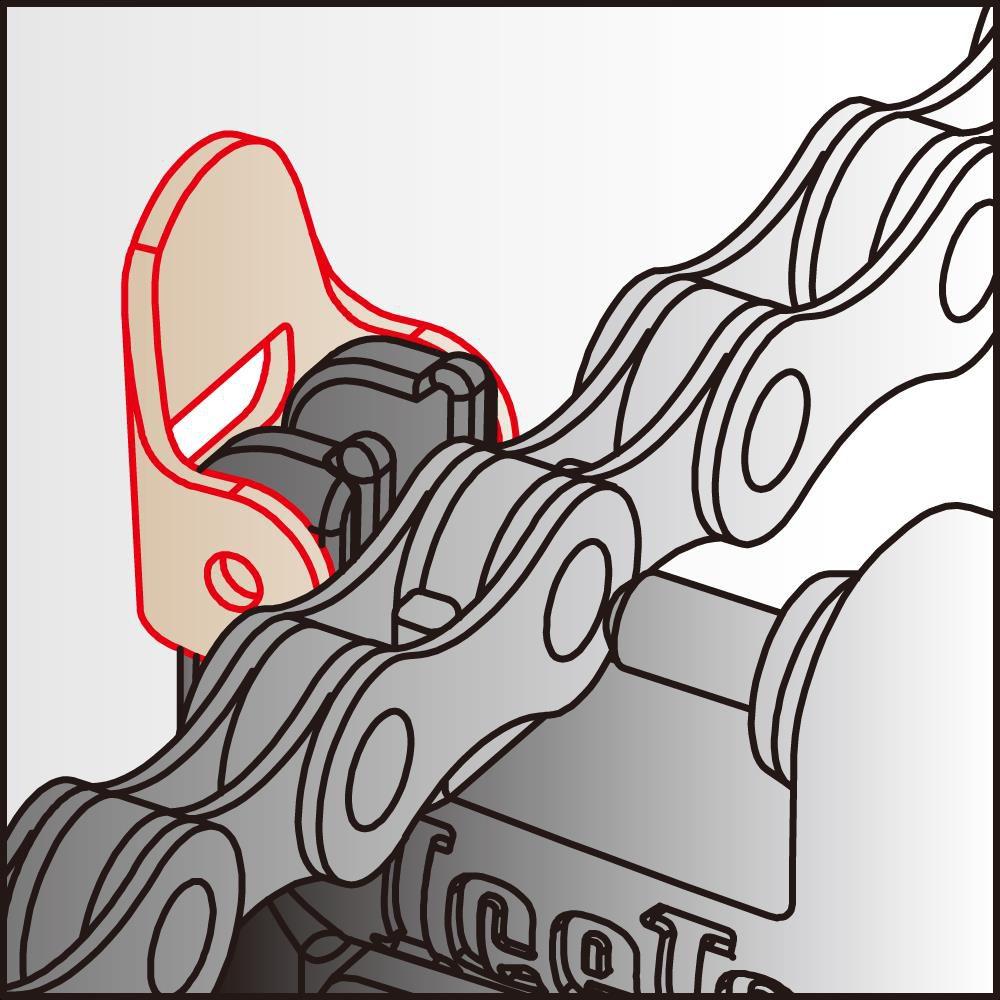 icetoolz kettingpons 62b3 pro shop single speed antraciet