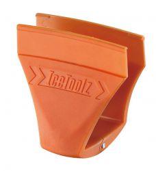 IceToolz richtgereedschap 55B1 - Croco, voor remschoen 15~40mm, oranje