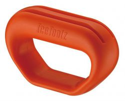 IceToolz spoke holder 12T4, flat spoke, orange