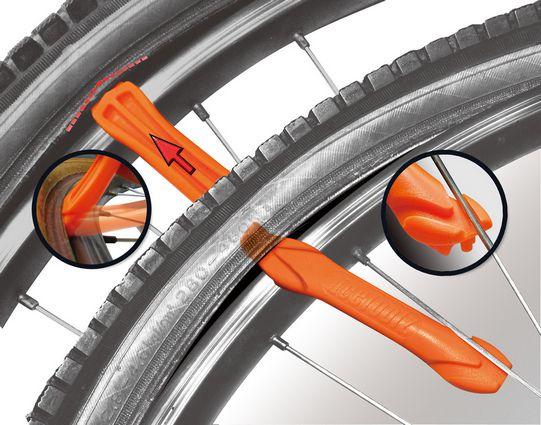 Set da 3 IceToolz Plastic Tire Levers