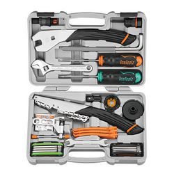 IceToolz tool set 82A8, Ultimate 29 parts, grey