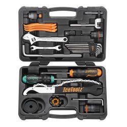 IceToolz tool set 82F4, Essence 22 parts, black