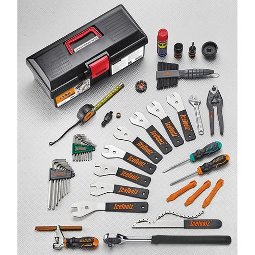 icetoolz tool set 85a5 advanced 28 parts black