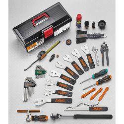 IceToolz tool set 85A5, Advanced 28 parts, black