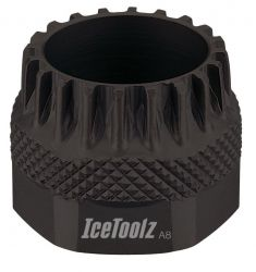 IceToolz trapassleutel 11B3, 20-tands passing, zwart