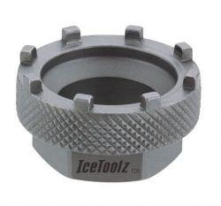 IceToolz trapassleutel 11D3, 8 nokken, zilver