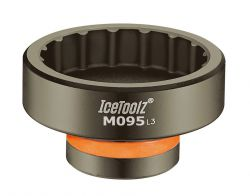 IceToolz trapassleutel M095, antraciet