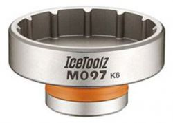 IceToolz trapassleutel M097, 12-tands, CP