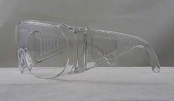 IceToolz veiligheidsbril met antistatische coating, EN 166 keur, transparant