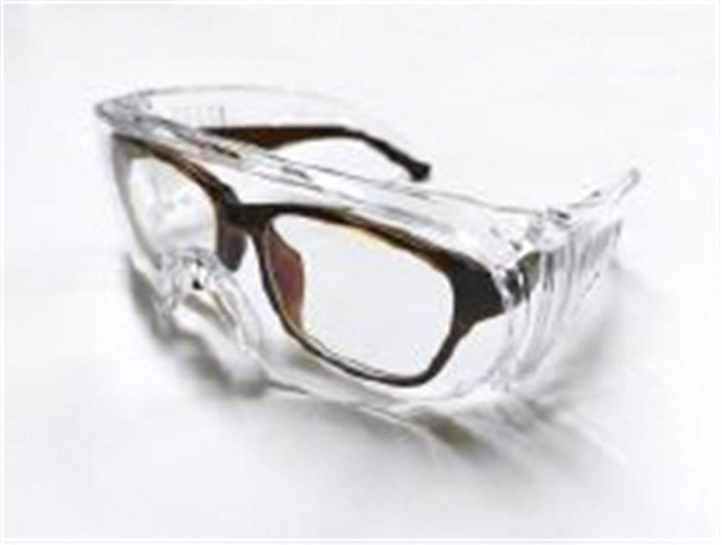 icetoolz veiligheidsbril 18g1 transparant met en166 keur