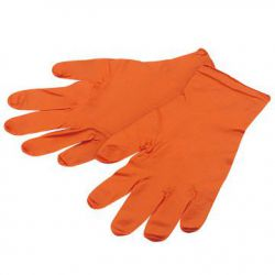 IceToolz work gloves 17G-, NBR L, orange