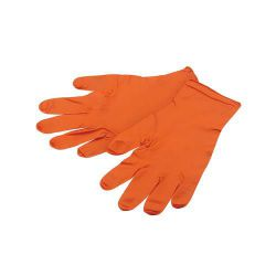 IceToolz work gloves 17G1, NBR L - 100 st. in doos, orange