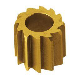 "IceToolzXpert balhoofdfrees E181C, 1.1/8"" & Chris King ø34mm, goud"