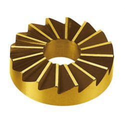 IceToolzXpert balhoofdfrees E181F, universeel ø45mm, goud