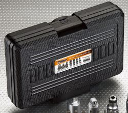 """IceToolzXpert doppen- en bitset E21K, 41-delig 1/4"""" en 1/2"""" adapters, CP"""