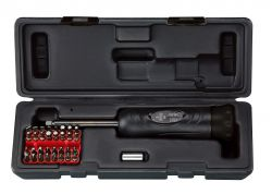 IceToolzXpert momentschroevendraaier E213, instelbaar 1~5Nm, zwart