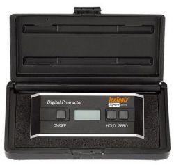 IceToolzXpert protractor E371, digital 0~360°, black|silver