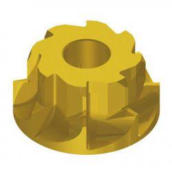 IceToolzXpert ruimer E171N, met vlakfrees ø41mm (PF24/41), goud